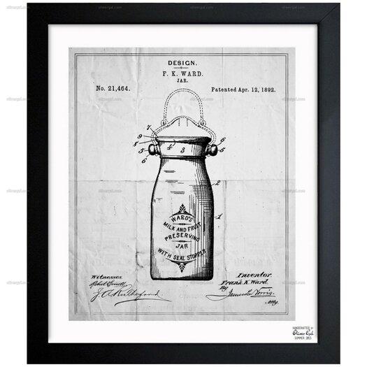 Preserving Jar 1892 Framed Graphic Art Painting Print