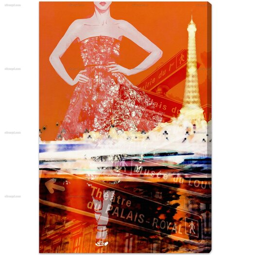 Paris Is My Runway Graphic Art on Wrapped Canvas