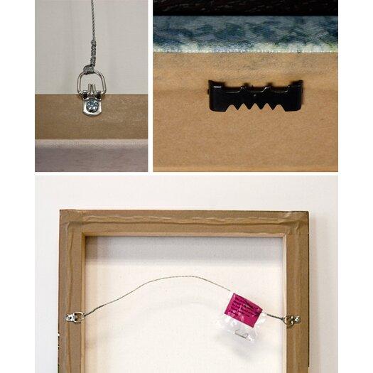 """Oliver Gal """"L""""arte e Viola"""" Graphic Art on Canvas"""