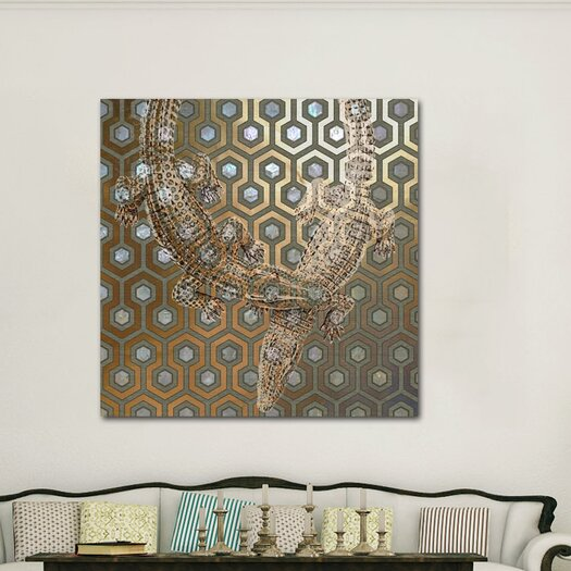 """Oliver Gal """"Olivia"""" Graphic Art on Canvas"""