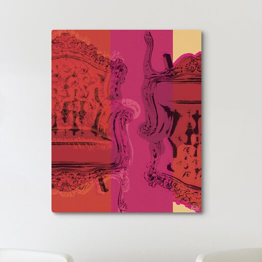 """Oliver Gal """"Viceversa"""" Graphic Art on Canvas"""