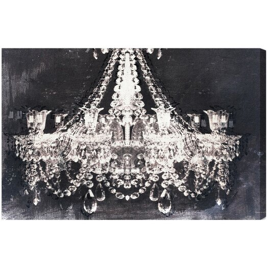Oliver Gal Dramatic Entrance Night Graphic Canvas Art