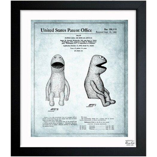 Oliver Gal Jim Henson Puppet Doll II 1958 Framed Graphic Art