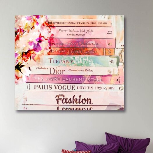 Oliver Gal Romantica Spring Graphic Art on Canvas