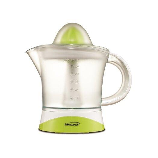 Brentwood Appliances 1.2 Liter Citrus Juicer