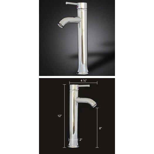 """Kokols 29"""" Pedestal Bathroom Vanity Set with Single Sink"""