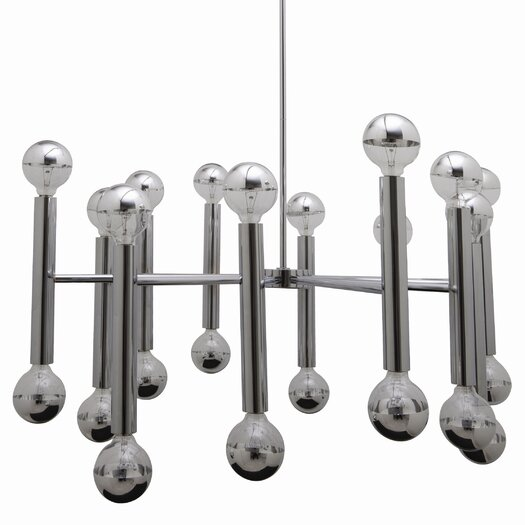 Nuevo Galileo Pendant Lamp in Chrome