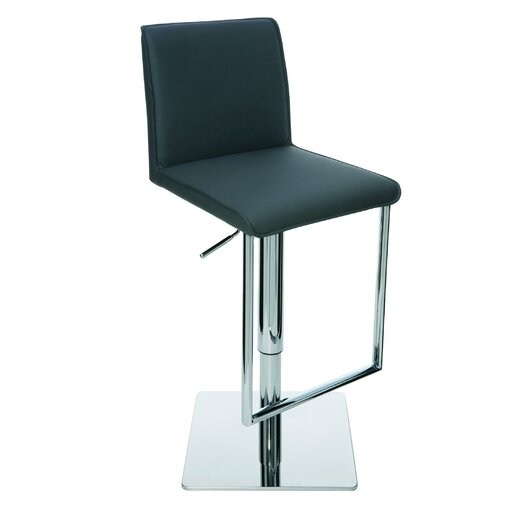 Nuevo Detrick Adjustable Height Bar Stool