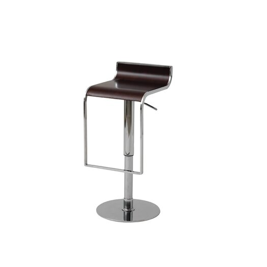 Nuevo Nero Adjustable Height Bar Stool
