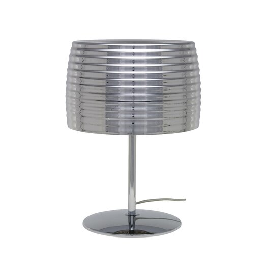 "Nuevo Chromium 18"" H Table Lamp with Empire Shade"