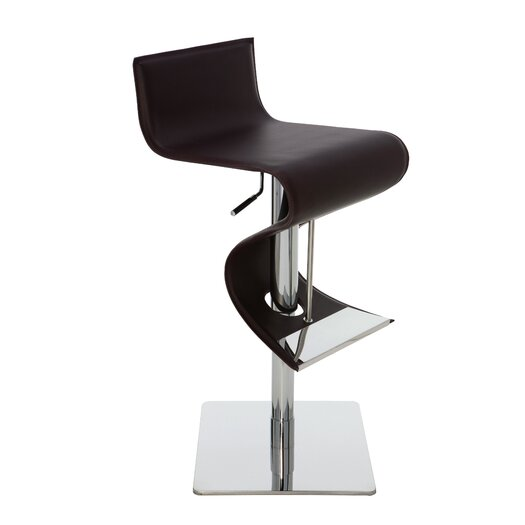 Nuevo Portland Adjustable Height Bar Stool