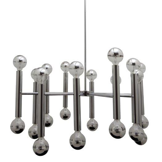 Nuevo Galileo Pendant Lamp in Chrome