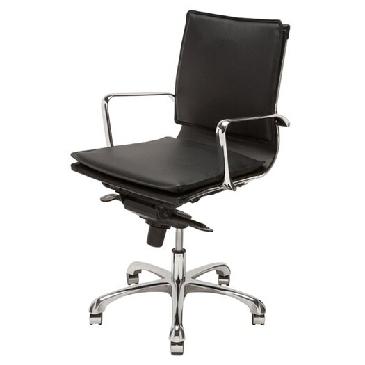 Carlo High-Back Office Chair with Arms