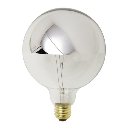 Nuevo 25W Chrome Incandescent Light Bulb