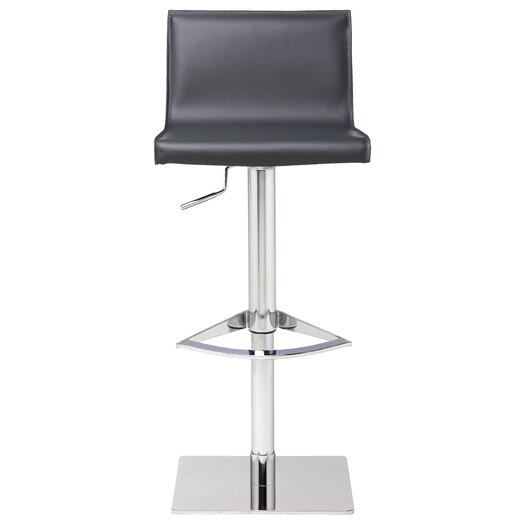 Colter Adjustable Height Bar Stool with Cushion