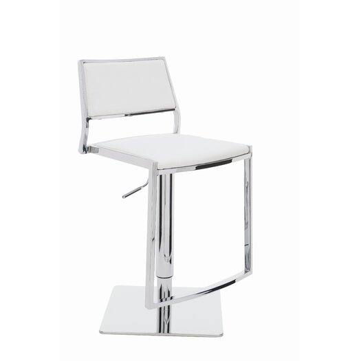 Nuevo Aaron Adjustable Height Bar Stool
