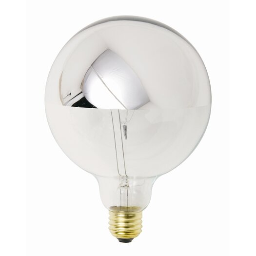 Nuevo 25W Chrome Incandescent Light Bulb