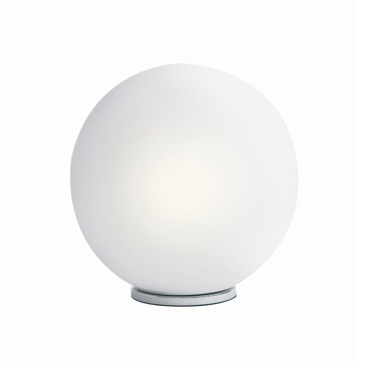 "Nuevo Dome 17"" H Table Lamp with Sphere Shade"