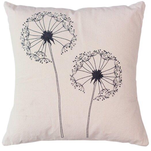 Sustainable Threads Dandelion Pillow