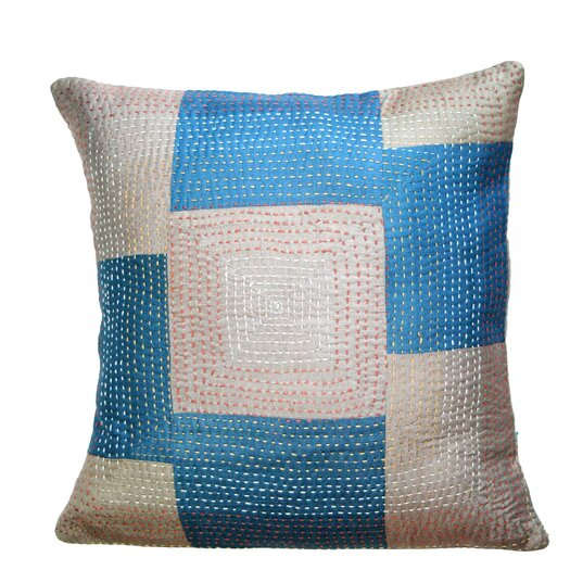 Sustainable Threads Geneva Silk Artisan Crafted Pillow