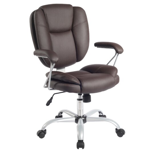 Techni Mobili Mid-Back Comfort Soft Managerial Office Chair