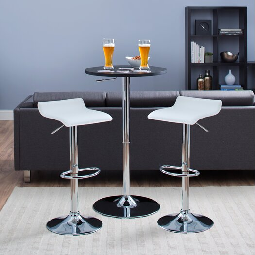 Castleton Home Willow Park Adjustable Height Airlift Bar Stool