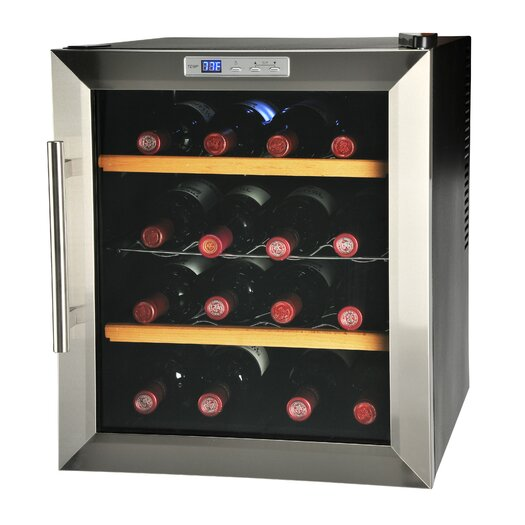 Kalorik 16 Bottle Single Zone Thermoelectric Built-In Wine Refrigerator