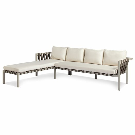 Blu Dot Jibe Outdoor Left Sectional with Cushions