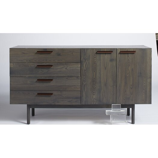Blu Dot Shale 4 Drawer 2 Door Credenza