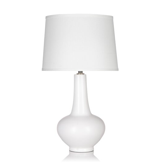 "Krush Hiromi 28"" H Table Lamp with Empire Shade"