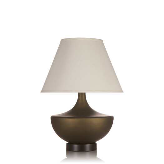 """Krush Davod 30"""" H Table Lamp with Empire Shade"""