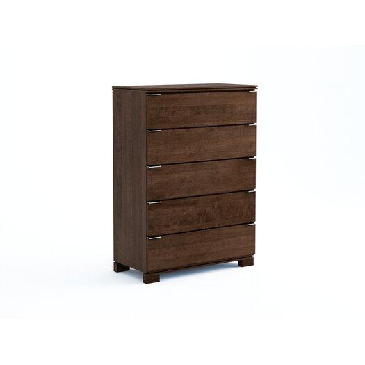 College Woodwork Grandview 5 Drawer Chest