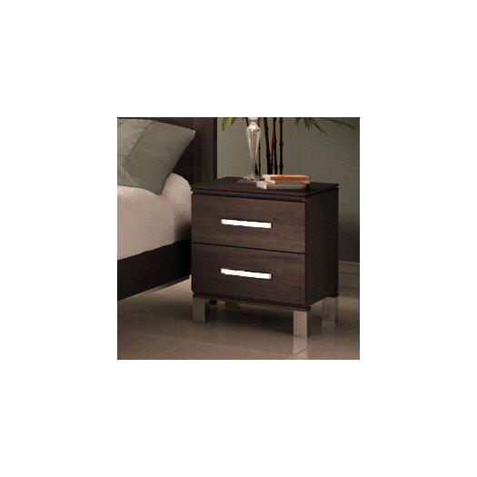 College Woodwork Cranbrook 2 Drawer Nightstand