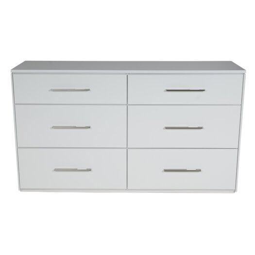 Kidz Decoeur York 6 Drawer Dresser