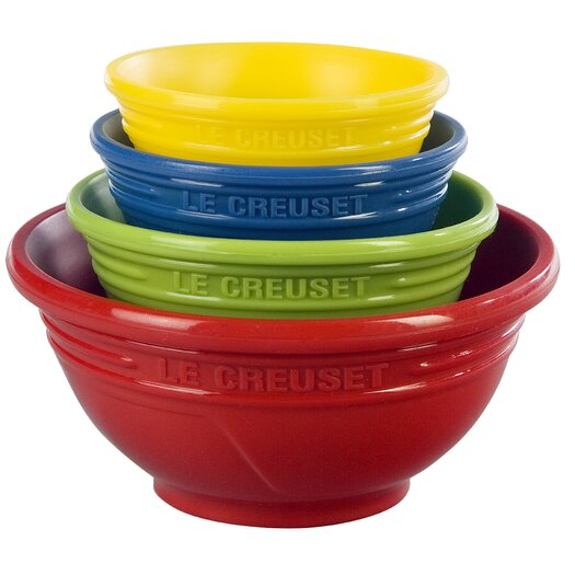 Le Creuset 4 Piece Prep Bowl Set