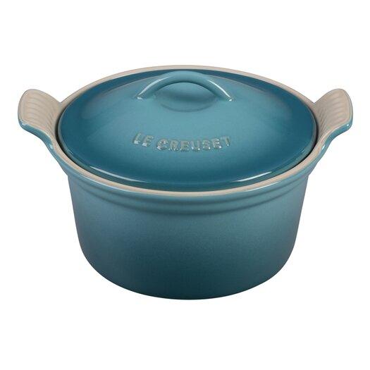 Le Creuset Stoneware 0.56-qt.Round Cocotte