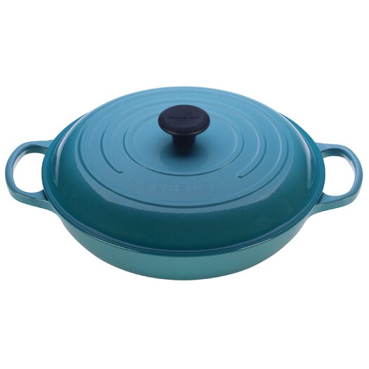 Le Creuset Cast Iron Round Braiser with Lid