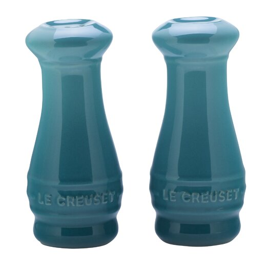 Le Creuset Stoneware 4 oz. Salt and Pepper Shakers