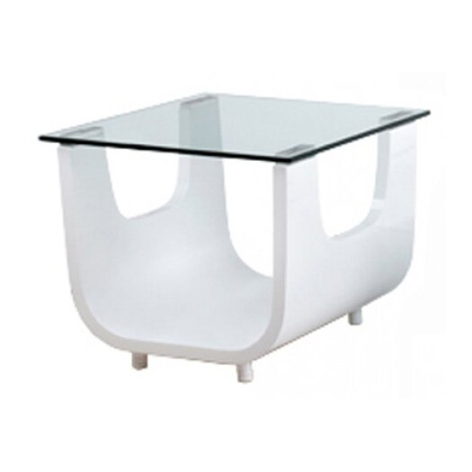 Whiteline Imports Saly Side Table