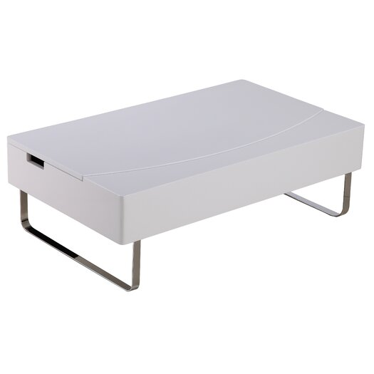 Whiteline Imports Bay Storage Coffee Table