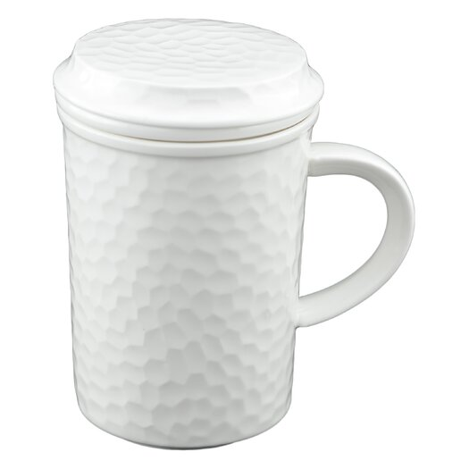 Tannex Lancaster Mug with Tea Infuser and Lid