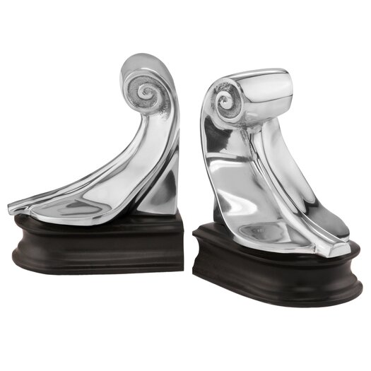 Modern Day Accents Feather Book Ends