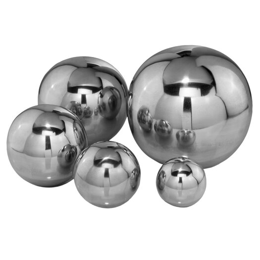 Modern Day Accents Sphere Decorative Ball I Sculpture