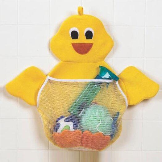 Primo Bath Tub and Ducky Toy Bag Set