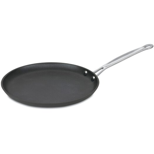"""Cuisinart Chef's Classic Nonstick Hard-Anodized 10"""" Crepe Pan"""