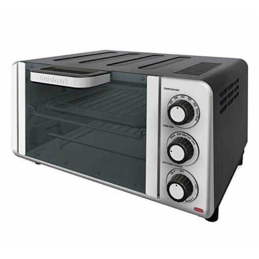 Cuisinart 0.35-Cubic Foot Compact Toaster Oven Broiler