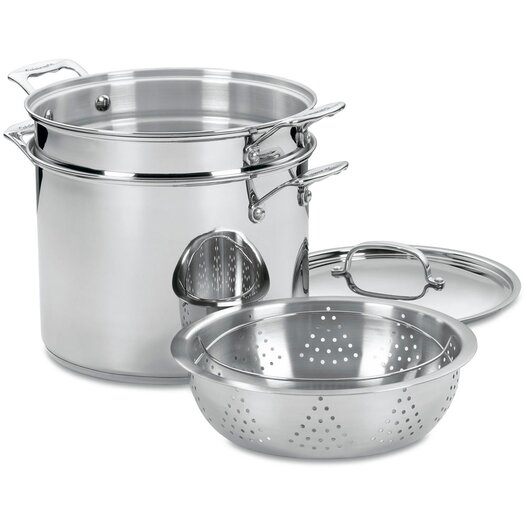 Cuisinart Chef's Classic 12 Qt. Stainless Steel 4 Piece Set