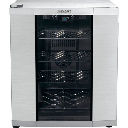 Cuisinart 16 Bottle Single Zone Thermoelectric Wine Refrigerator