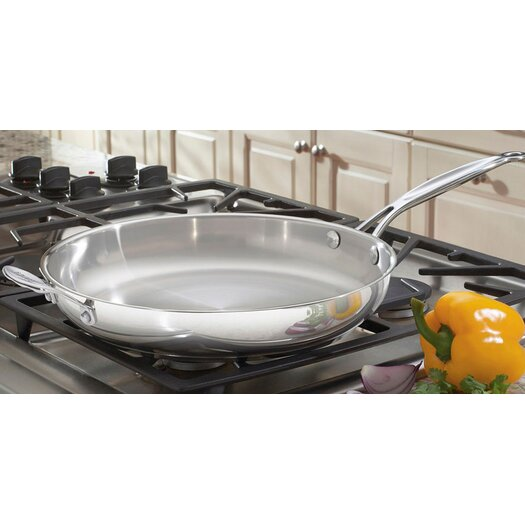 "Cuisinart Chef's Classic Stainless Steel 12"" Skillet"