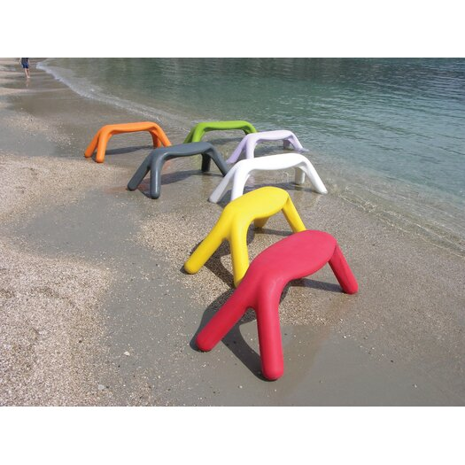 Slide Design Atlas Polyethylene Stackable Bench